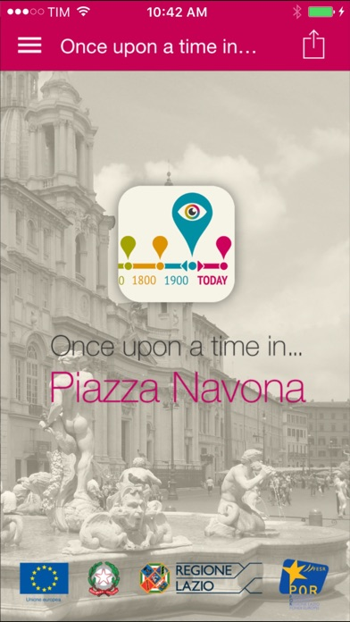 Once upon a time in Piazza Navona screenshot one