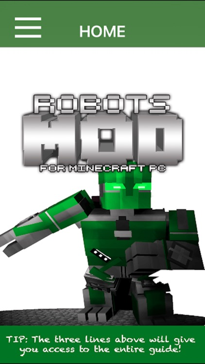 Robots Mod For Minecraft PC