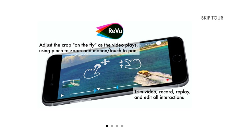ReVu Video Editor - Record Zoom and Pan Interactions to Make a New Video