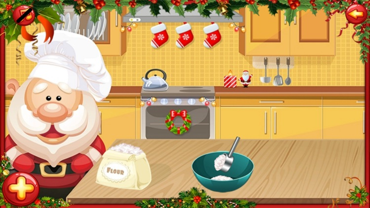 Santa Cake Salon screenshot-4