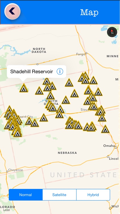 South Dakota Campgrounds & RV Parks Guide