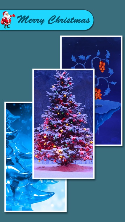 Christmas Wallpapers & Backgrounds Pro - Xmas Tree, Cards, Light & Santa Claus Retina Images screenshot-3