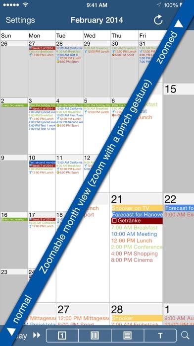 CalenGoo (sync with Google Calendar) Screenshot 2