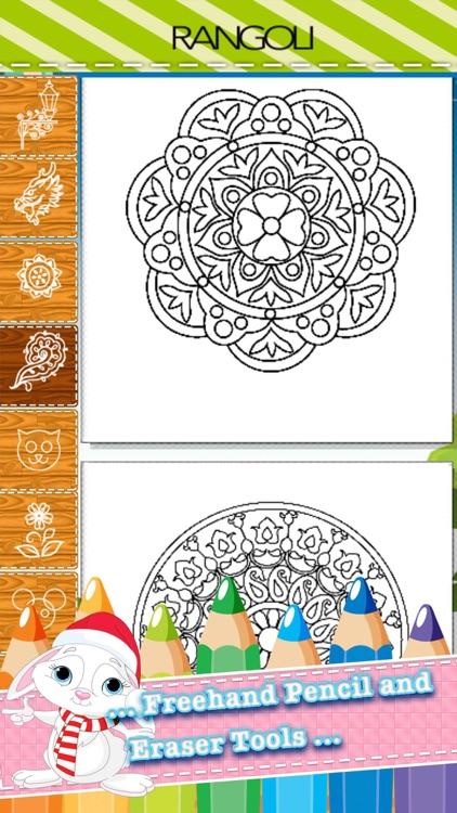 Adult Coloring Book Mandala - Free Fun Games for Stress Bringing Relax Curative Relieving Color Therapy screenshot-4