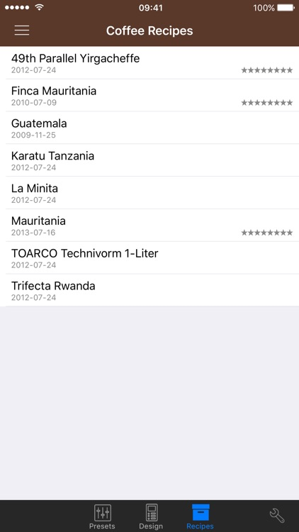 VST CoffeeTools™ PRO for iPhone screenshot-4