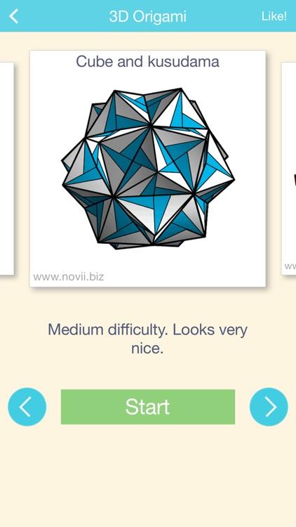 ORIGAMI 3D: explore new magic paper creations screenshot-3