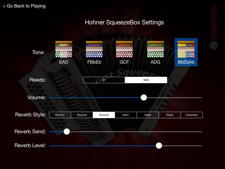 Hohner-BbEbAb SqueezeBox - All Tones Deluxe Edition screenshot-0
