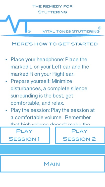 Vital Tones Stuttering Pro