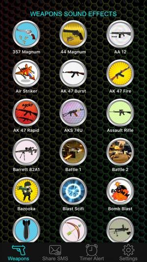 Weapon & Gun Sound Effects Button Free - Share Explosion