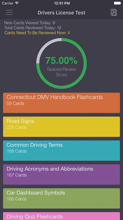 dmv drivers license test ct