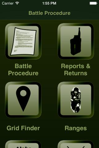 Battle Procedure Aide Memoire - náhled