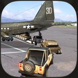Army Cargo Plane Pilot 3D Simulator