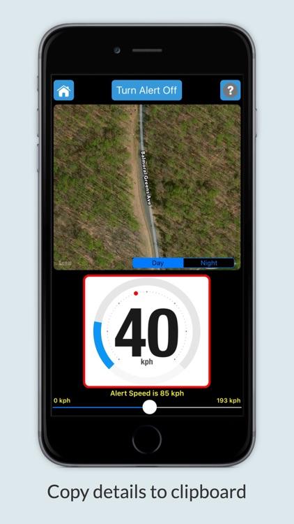 iSpeedAlert - Speed Monitor screenshot-3