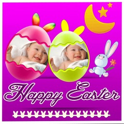 Easter Picture Frames and Stickers