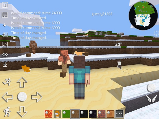 Worldcraft Pocket Edition On The App Store - Minecraft lan spielen connection timed out