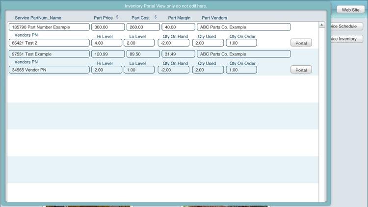 Service Maintenance DB screenshot-4