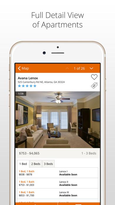 Apartment Finder Screenshot
