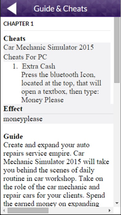 Great App For Car Mechanic Simulator 2015 Version App Details