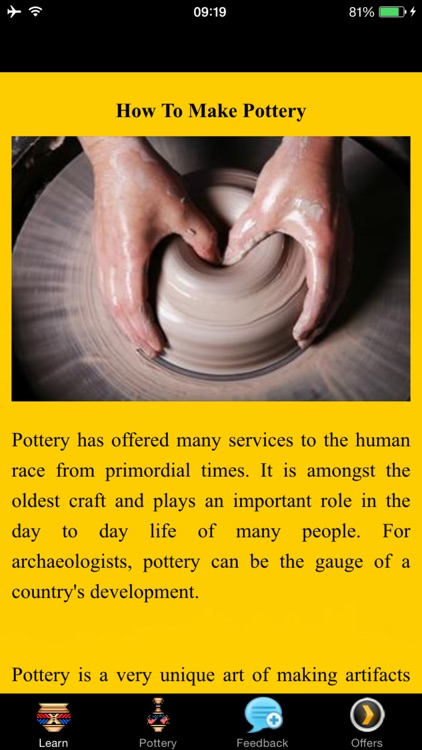 How To Make Pottery - Garden Art