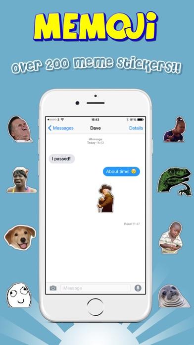 Memoji - Emoji Meme Sticker Keyboard Screenshot