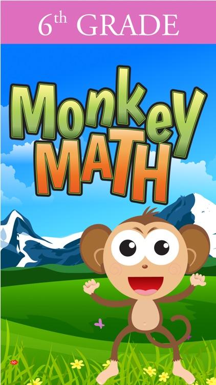 6th Grade Math Curriculum Monkey School Free game for kids ...
