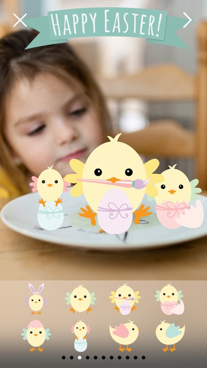 Happy Easter Pro - Easter Celebration Everyday Photo Stickers