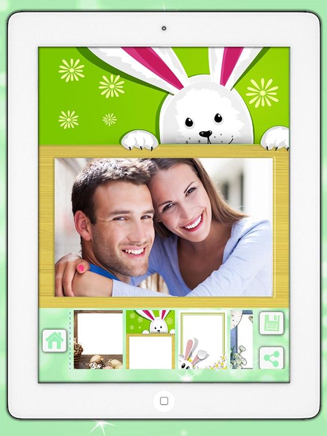 Ostern Foto-Editor Kamera Urlaubsbilder in Frames Collage - Premium ...