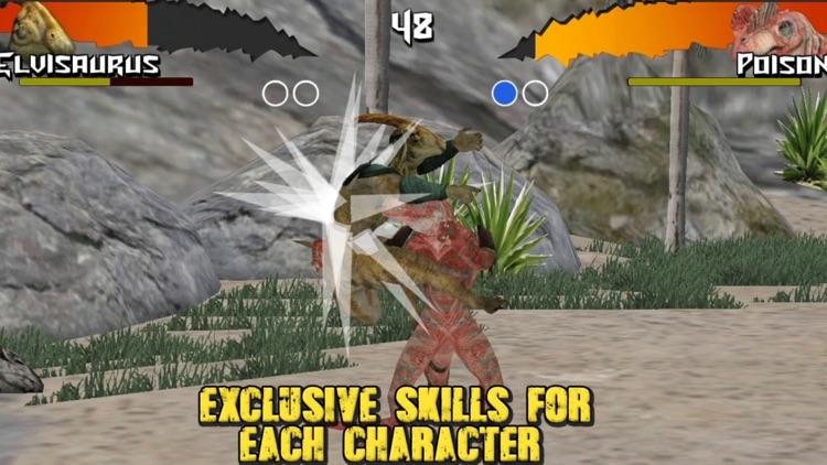 Dinosaurs Free Fighting Game screenshot-0