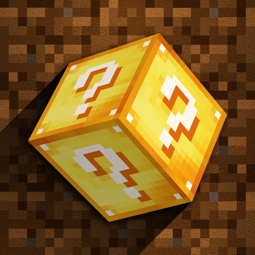 Lucky Block Maps for Minecraft Pocket Mine Edition icon
