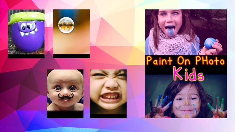 Paint On Photos Kids screenshot-4