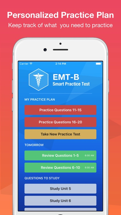 NREMT EMT-B Smart Test Prep 2016 screenshot-3