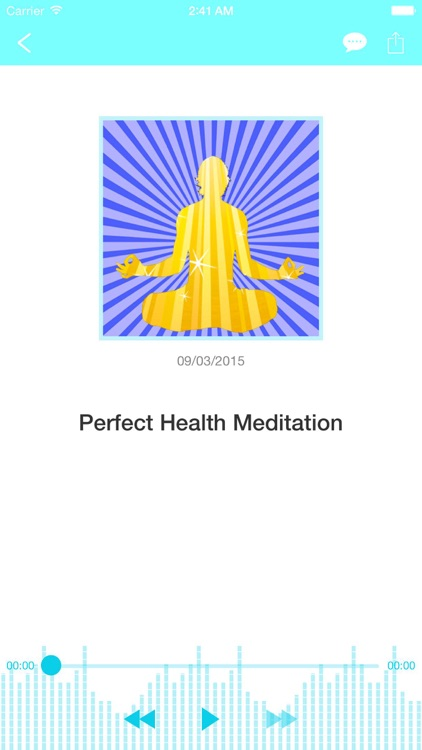 Healing Meditation and Perfect Health Visualization