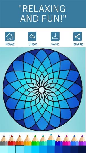 Mandala Coloring Book on the App Store