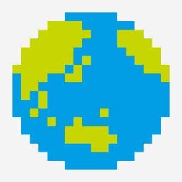 Pixel art magic