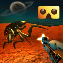 Alien VR Shooter : Virtual Reality Game For Google Cardboard