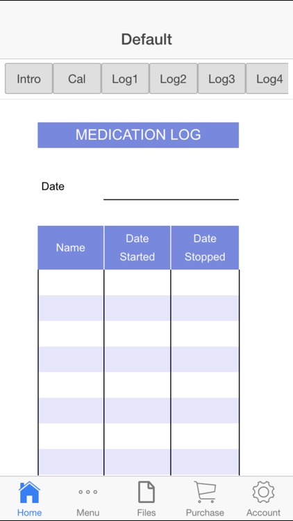 Medication Log screenshot-2