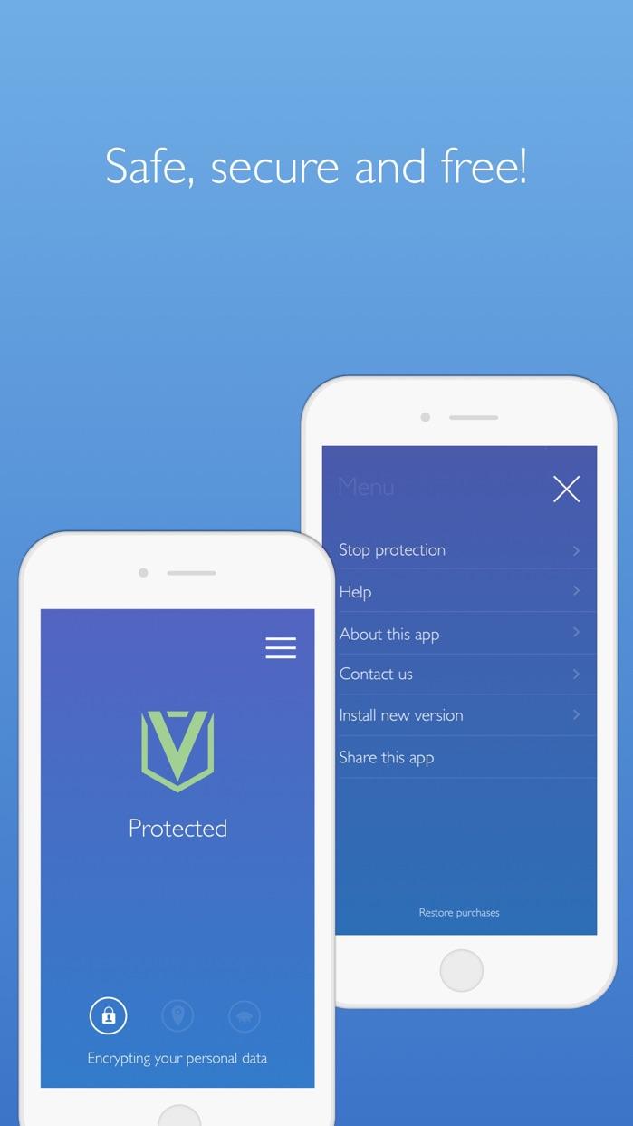 Free VPN Defender - WiFi Protection & Security Screenshot