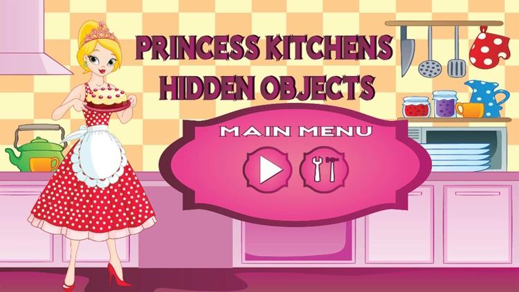 Princess Kitchens Hidden Object