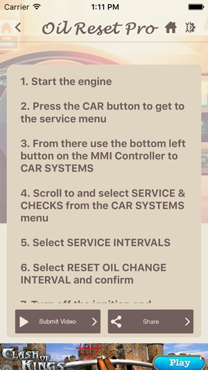 Oil Reset Pro on the App Store