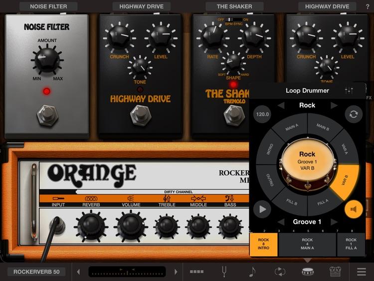 AmpliTube Orange for iPad screenshot-3