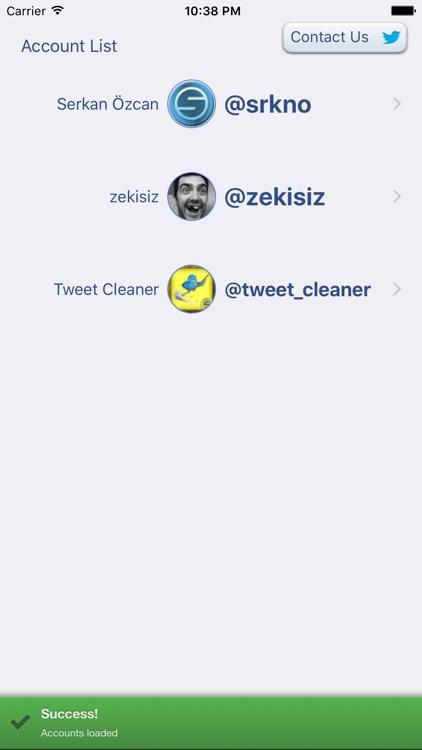 Tweet Cleaning - Delete Tweets