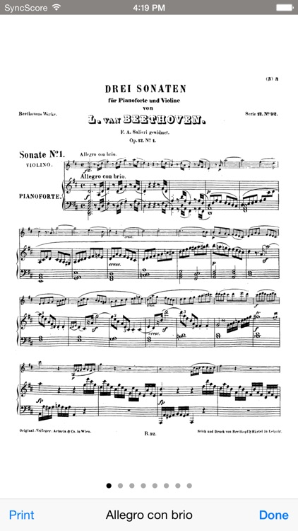 Beethoven Violin Sonatas - SyncScore screenshot-3