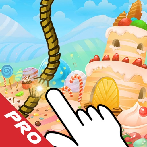 Rope Castle PRO : The Monster Cut Candy