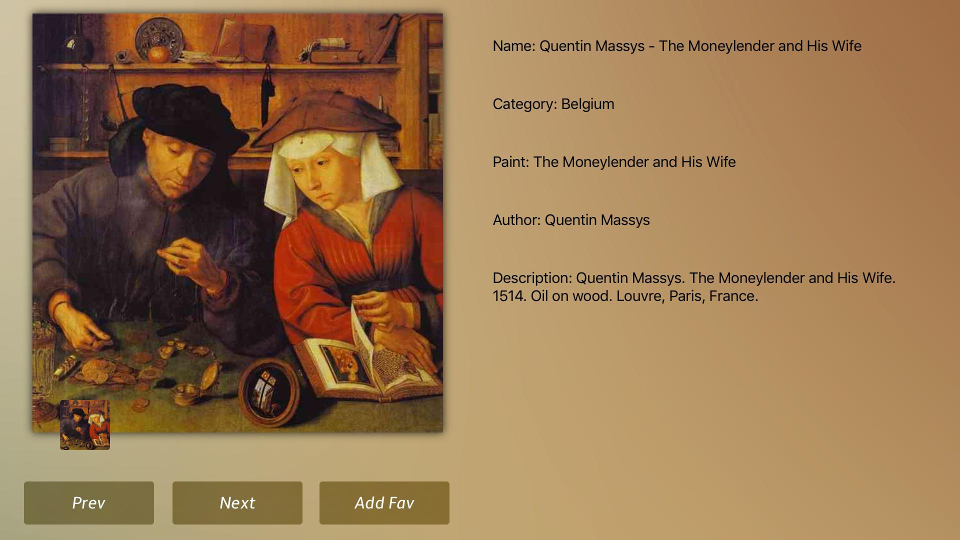 Belgium Art Gallery screenshot 19