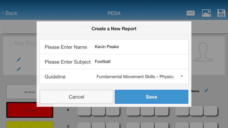 PESA - The PE and Sports Assessment Tool screenshot-3