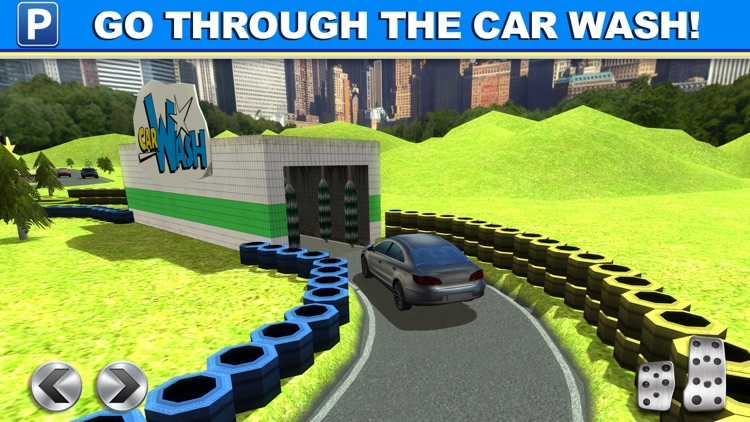 Gas Station Car Parking Simulator a Real Road Racing Park Game screenshot-4