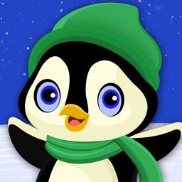 Penguin Winter Fun : The Snowboard Sport Crazy Cold Race - Gold