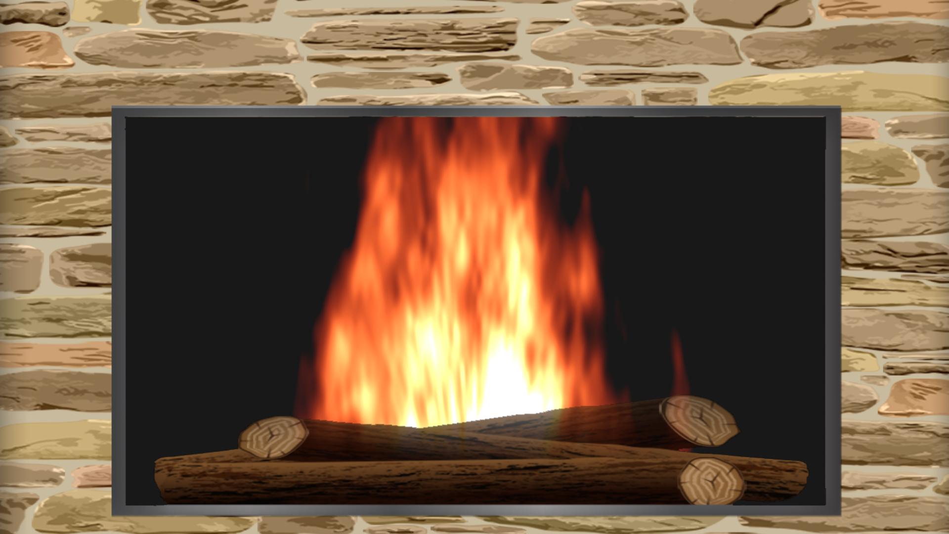 Sensory Flames - Free Fireplace for your TV screenshot 5