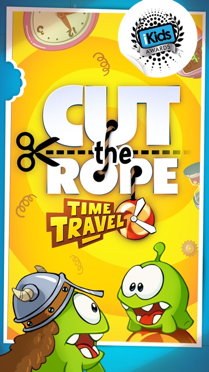 Cut the Rope: Time Travel screenshot-0