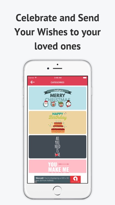 eCard Factory-Celebrate and Send Wishes for Free screenshot three
